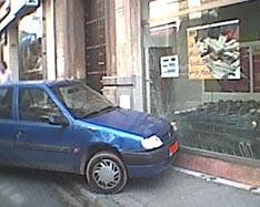 Solución: Meter el coche en el supermercado